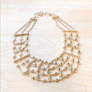 BCBG MAXAZRIA gold fashion necklace